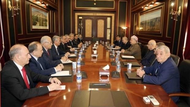 Başkan Barzani Rojava heyetini kabul etti