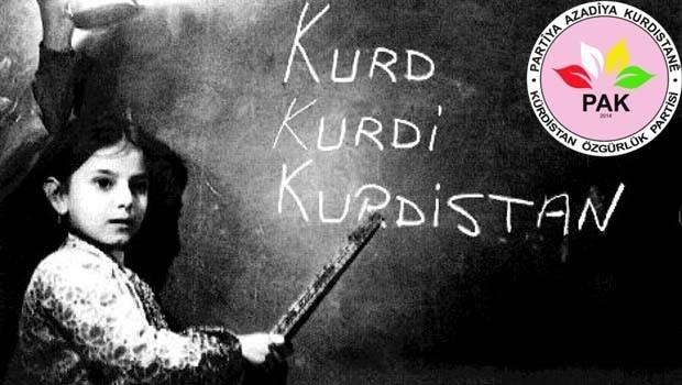 PAK: 21 Şubat Kürtçe bilmeyen Kürtler için Kürt dilinin öğrenilmesinin başlangıcı olsun