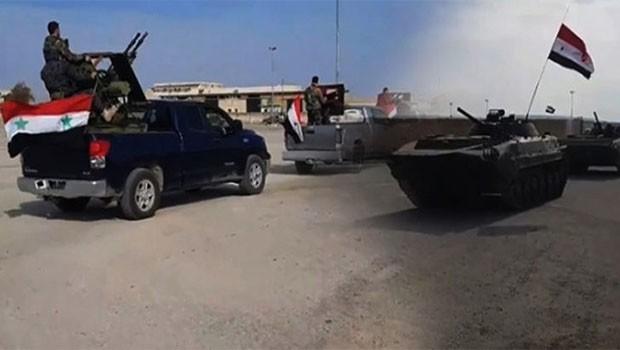 SANA: Yeni birlikler Afrin'e ulaştı