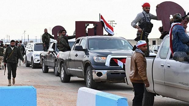 YPG sözcüsü: Suriye güçleri bombardımanına rağmen Afrin'de
