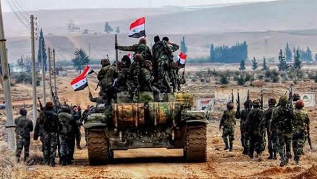 Bir bölgenin daha kontrolü YPG'den Suriye ordusuna geçiyor