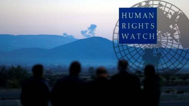 İnsan Hakları İzleme Örgütü'nden Afrin raporu