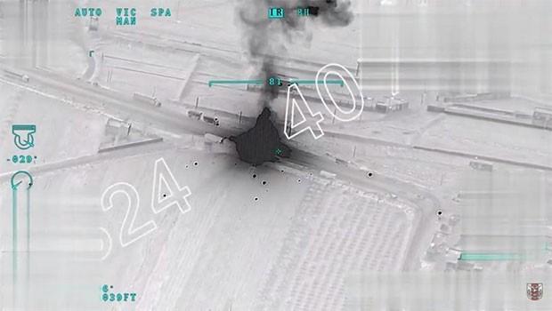 TSK: Afrin'e geçen konvoy vuruldu