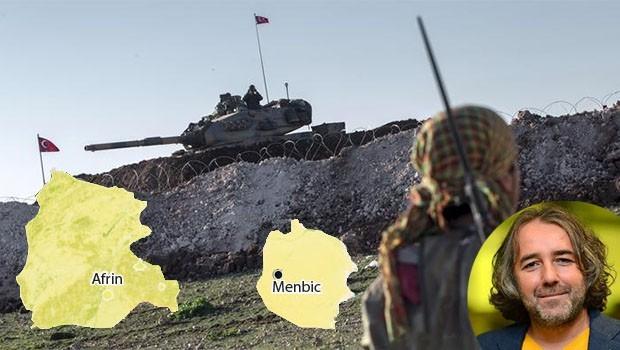 Taştekin: YPG, Menbic'te de aynı taktiği uygulayabilir