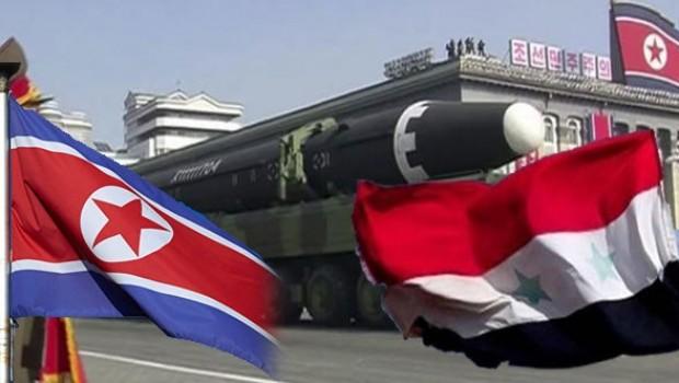 Flaş iddia: Kuzey Kore'den Suriye'ye kimyasal silah materyali