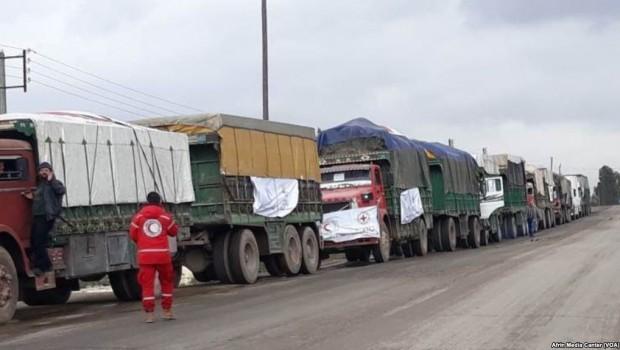 ICRC: 'Afrin'e Yardım Ulaştı'