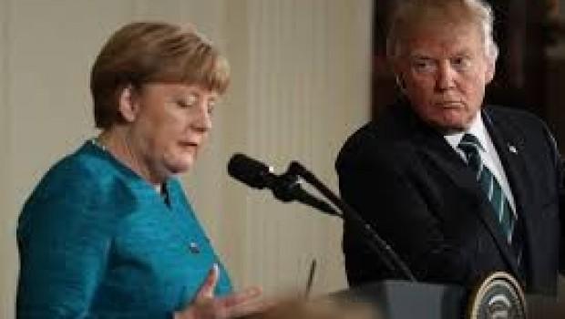 Merkel ve Trump Suriye'deki durumu görüştü