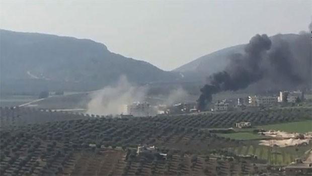 Afrin'de son durum... Raco kent merkezinde şiddetli çatışmalar!