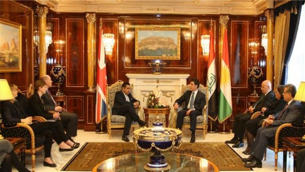 İngiltere'den Kürdistan'a üst düzey ziyaret