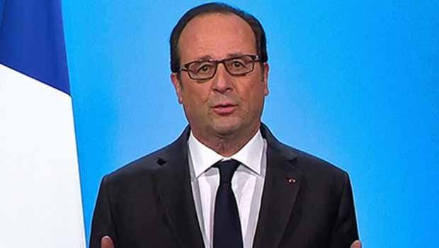Hollande: Peşmergenin mücadelesini unutmayacağız