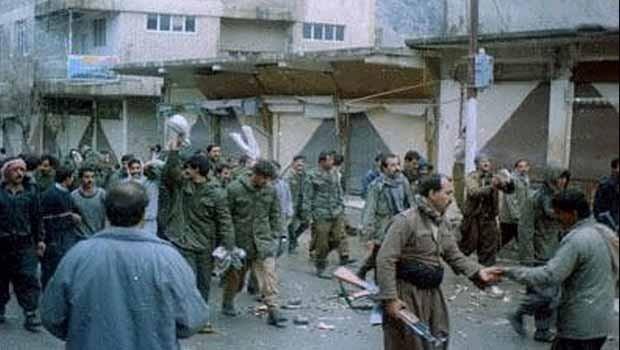 5 Mart 1991 Güney Kürdistan Halk Ayaklanması (Raperîn)