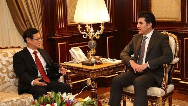 Başbakan Barzani, Çin Başkonsolosu kabul etti