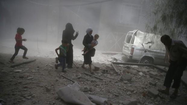 İngiltere'den Rusya'ya: Suriye'de ateşkesi sağlayın