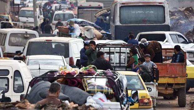 BM'den Afrin açıklaması... Çok sayıda sivil tehdit altında!