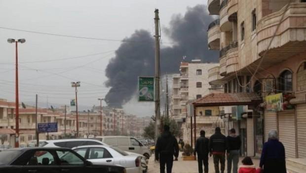 TSK, kent merkezine ilerliyor... Efrin'de hayat durma noktasında!