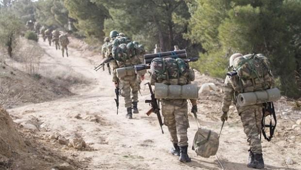Efrin'de bir asker hayatını kaybetti, 1 yaralı