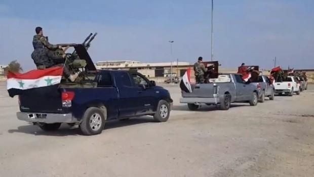 SOHR: Suriye rejim güçleri Efrin'den çekiliyor