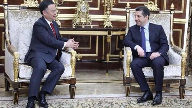 Çin büyükelçisi: Kürdistan ile ilişkilerimizi geliştirmek istiyoruz