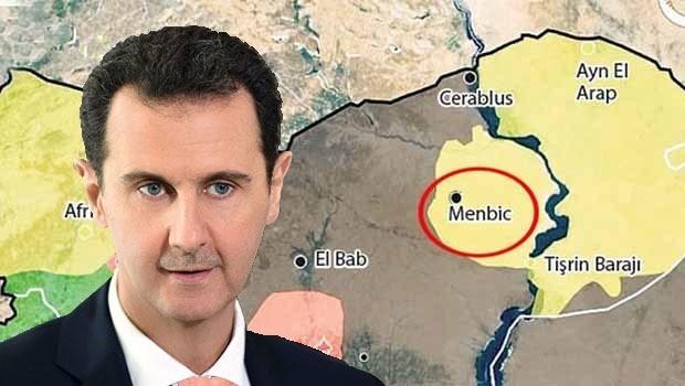 İsrail Gazetesi: Menbic'in meyvelerini Esad toplayacak