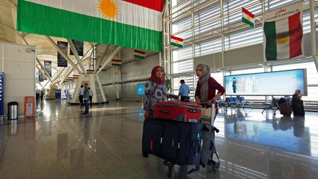 Kürdistan'a ilk uçak İran'dan
