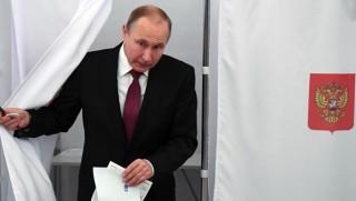 Rusya'da seçimin galibi Putin oldu