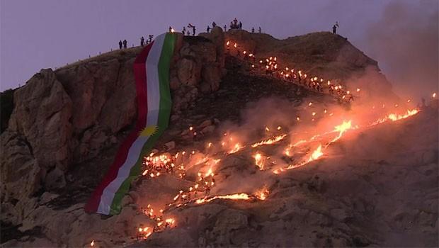 Kürdistan'daki Newroz kutlamalarına turist akını