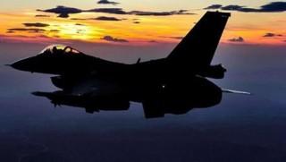 Nevşehir'de askeri uçak düştü