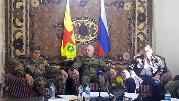 Rus medyasında YPG için ilk kez 'terör örgütü' nitelemesi