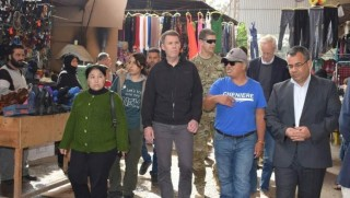 ABD'li yetkililer Menbic'te YPG ile görüştü