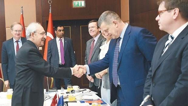 Kılıçdaroğlu ile Alman Büyükelçi arasında 'Efrin' gerilimi