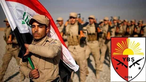 'Irak güçleri (YBŞ) Şengal'e konuşlandı'