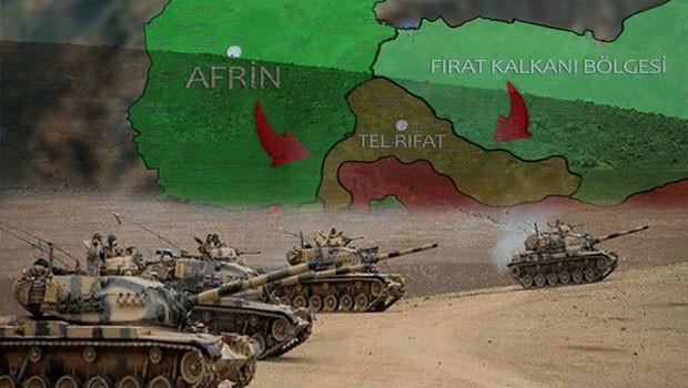 TSK ve ÖSO Til Rıfat'a askeri harekat başlattı