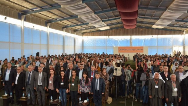 ABD Heyeti, Kuzey Suriye'de kurulan yeni partinin kongresinde