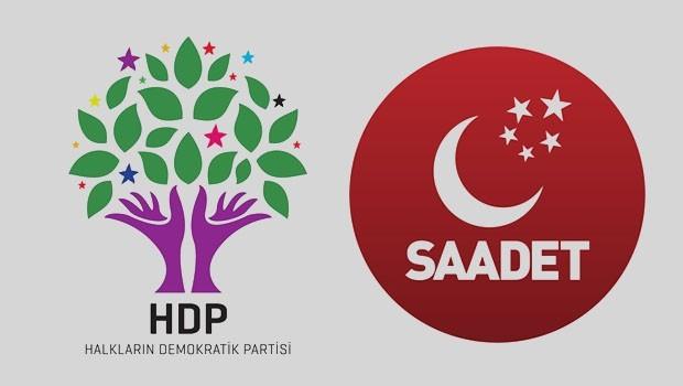 HDP'den Saadet Partisi'nin çağrısına yanıt