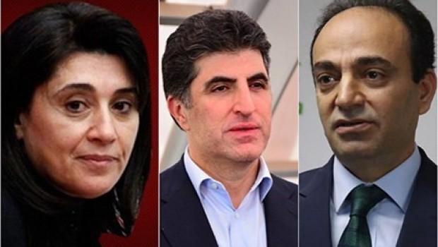 Zana ve Baydemir'den Başbakan Barzani'ye başsağlığı mesajı