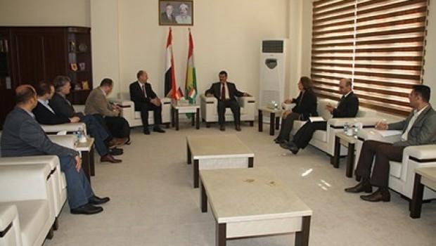 AB'den Kürdistan'a eğitim desteği