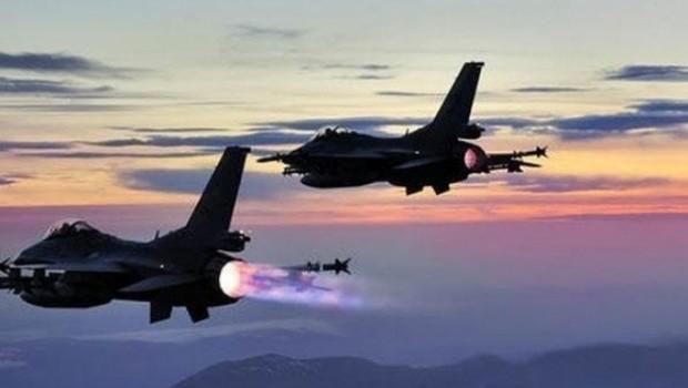 Türk savaş uçakları Xakurk bölgesini bombaladı