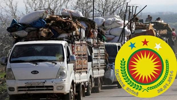 Efrin yönetimi: BM hiç bir mektubumuza cevap vermedi
