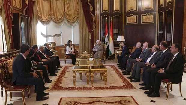 PDK: Başkan Barzani çözüm süreci için arabulucu olmaya hazır