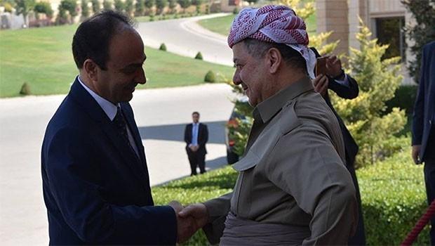 Başkan Barzani ve Baydemir arasında duygu yüklü sohbet!