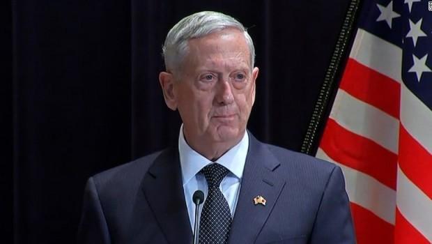 Mattis: Suriye'ye askeri müdahale seçeneği ihtimal dışı değil
