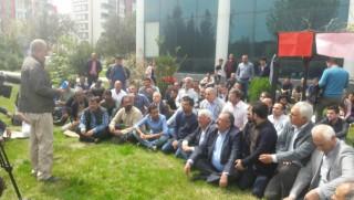 PAK, PSK, KDP-Bakur, ÖSP ve Azadi Hareketi'nden taşeron işçilere destek
