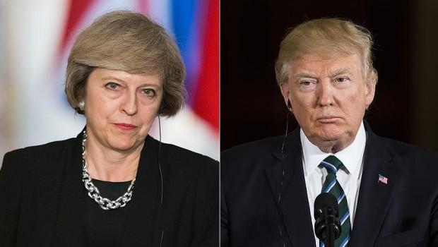 Trump ve May telefonda Suriye'yi görüştü