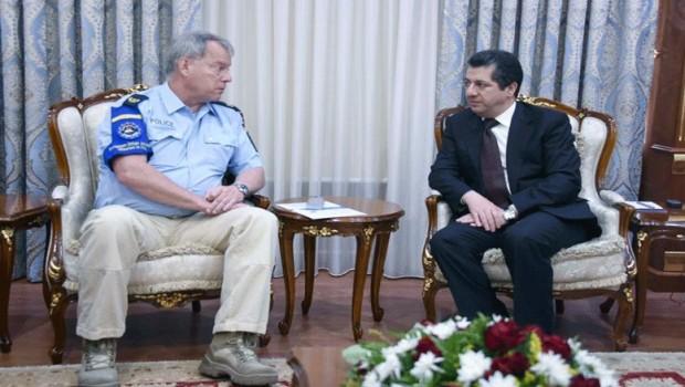 AB heyetinden Mesrur Barzani'ye ziyaret