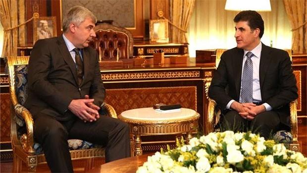 Başbakan Barzani, Rus heyetini kabul etti