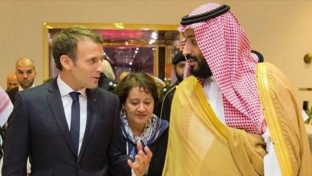 Macron ve Muhammed Bin Selman'dan 'Suriye' açıklaması!