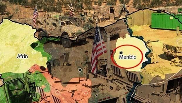 ABD ve Fransa Menbic'e yeni askeri sevkiyat