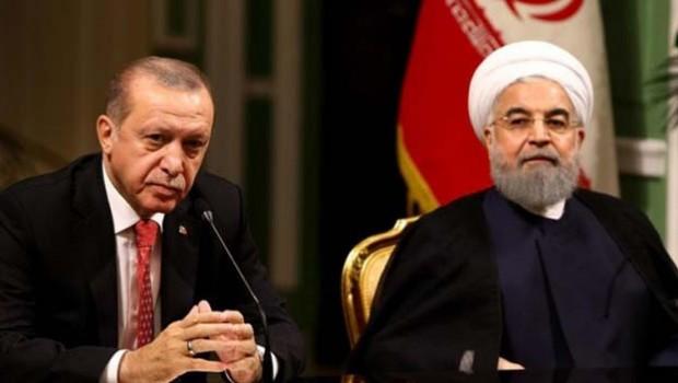 Erdoğan ile Ruhani Suriye'yi görüştü