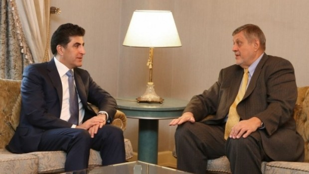 Başbakan Barzani, BM Özel Temsilcisi Kubis'i kabul etti