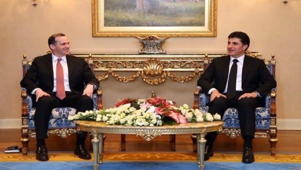 Başbakan Barzani'den McGurk'a: Çözüm için tek yol diyalog